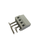 SIDE ANGLED PCB TERMINAL BLOCK 16A 5mm PITCH 4 POLE RIGHT