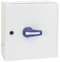 100A 3P+N ON-OFF SWITCH FUSE IN IP65 METAL ENCLOSURE