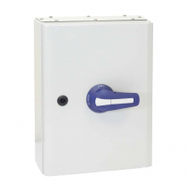 160A 3P+N ON-OFF SWITCH FUSE IN IP65 METAL ENCLOSURE