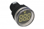 SCL 22mm VOLTMETER 10-2...