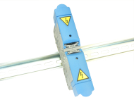 232A 8MM STUD TERMINAL 1000V WITH BLUE COVERS