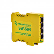 4 PORT INDUST. ETHERNET SWITCH 5-30VDC