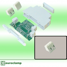 EUROCLAMP DIN MODULE HOUSING ACCESSORY VENTED INSERT