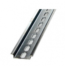 35MM TOP HAT DIN RAIL 200MM SLOTTED CUT TO LENGTH