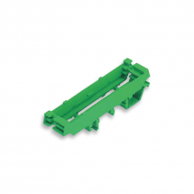 EUROCLAMP PCB PROFILE SUPPORT SINGLE MODULE L= 17.5 MM