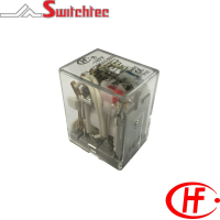 HF18FF Series - 2, 3 & 4 Pole Changeover Relay VDC