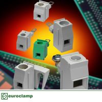 Euroclamp Panel Feed Through Terminal Blocks