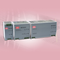Meanwell 2 & 3 Phase Din Rail Mount Power Supplies