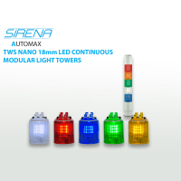 Sirena Nano TWS 18mm Modular Light Towers 24VAC/DC