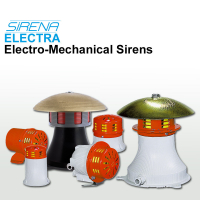 Sirena Electro-Mechanical Sirens