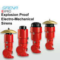 Sirena Exd Explosion Proof Electro-Mechanical Sirens