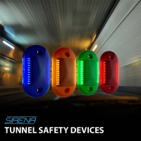 Sirena Tunnel Safety Devices
