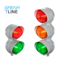 Sirena LED XLF S Steady, Flash & Strobe Effect Traffic Light Kits