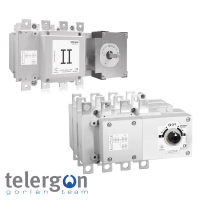 Telergon 3 Pole Bypass Changeover Switches